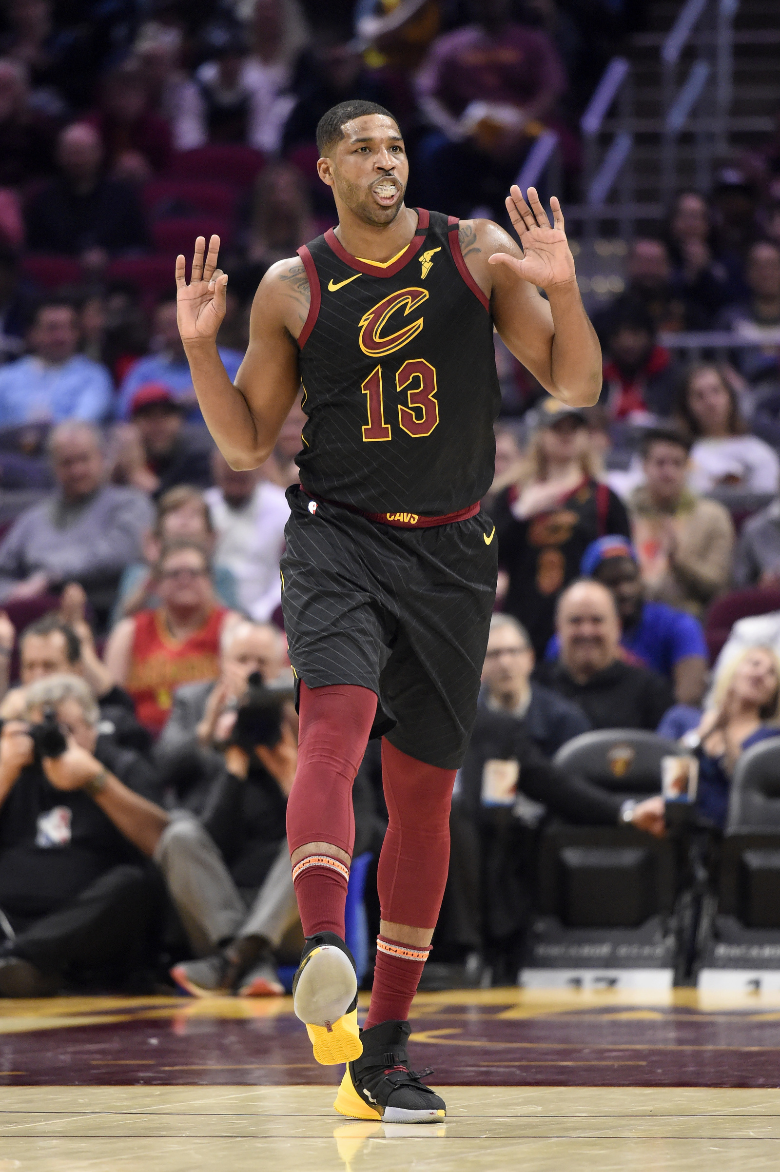 Cleveland Cavaliers Tristan Thompson Had Quite A CLE Last Hurrah If This Is Near end