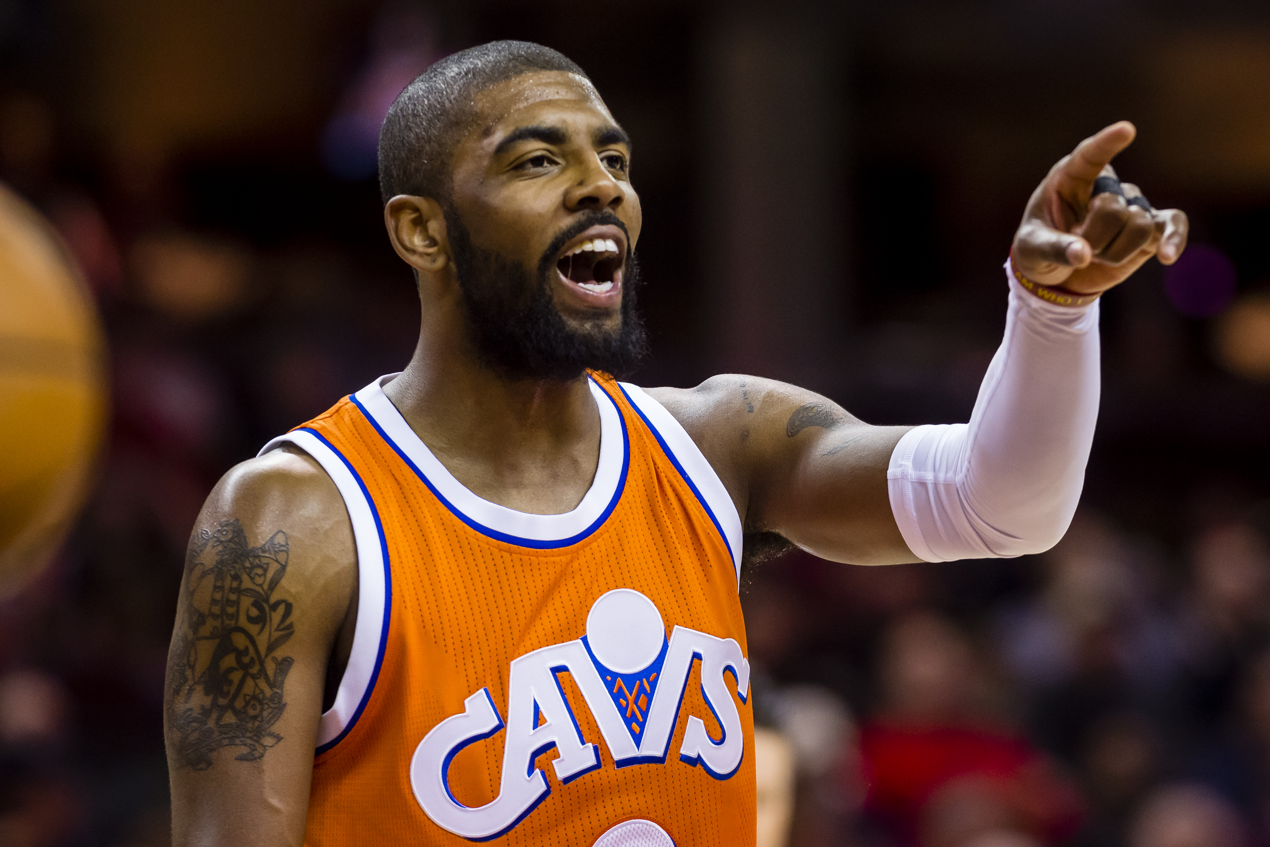 A Kyrie Irving-Kristaps Porzingis trade being eyed