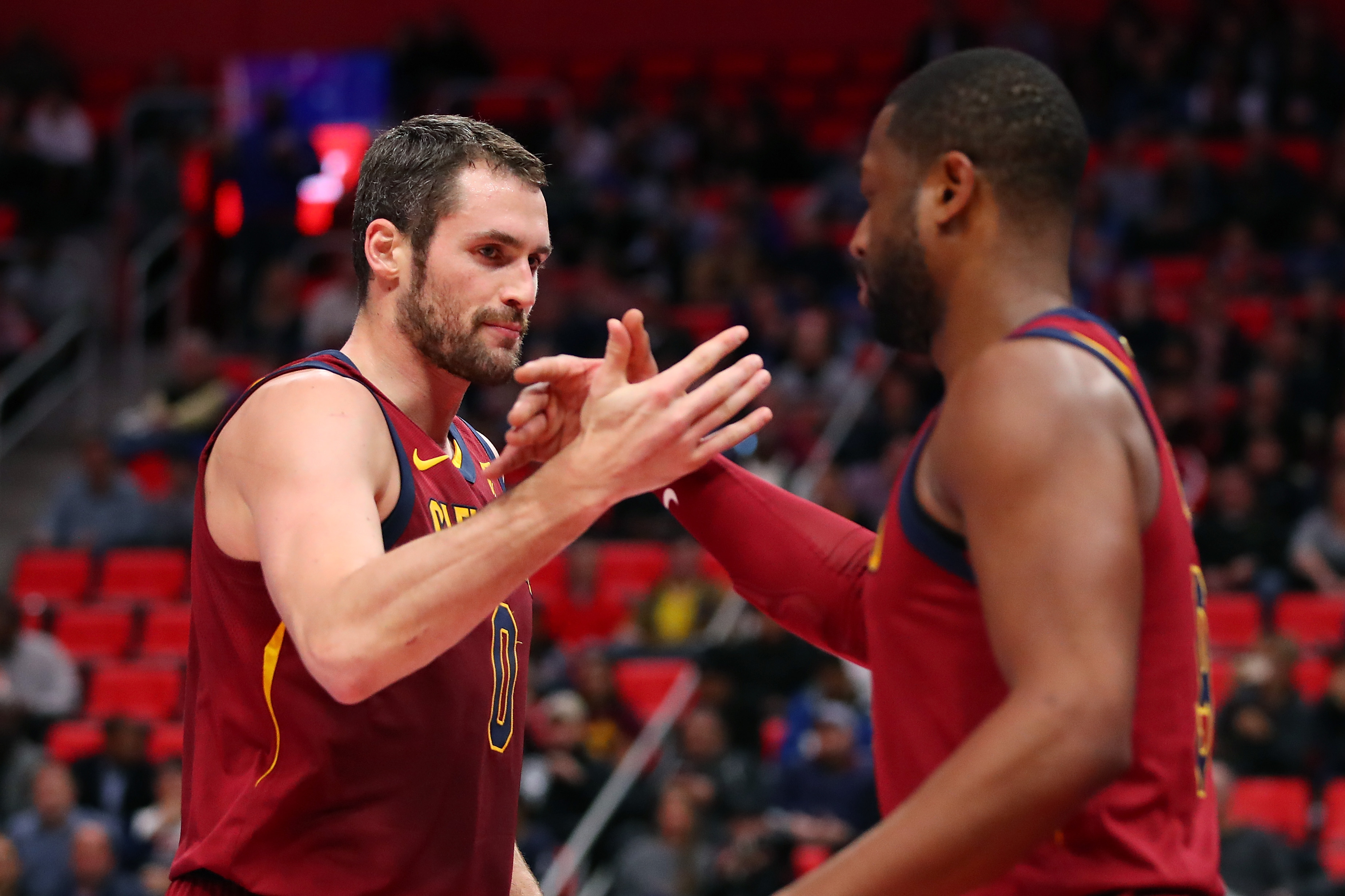 Cavs beat Pistons for 5th straight win