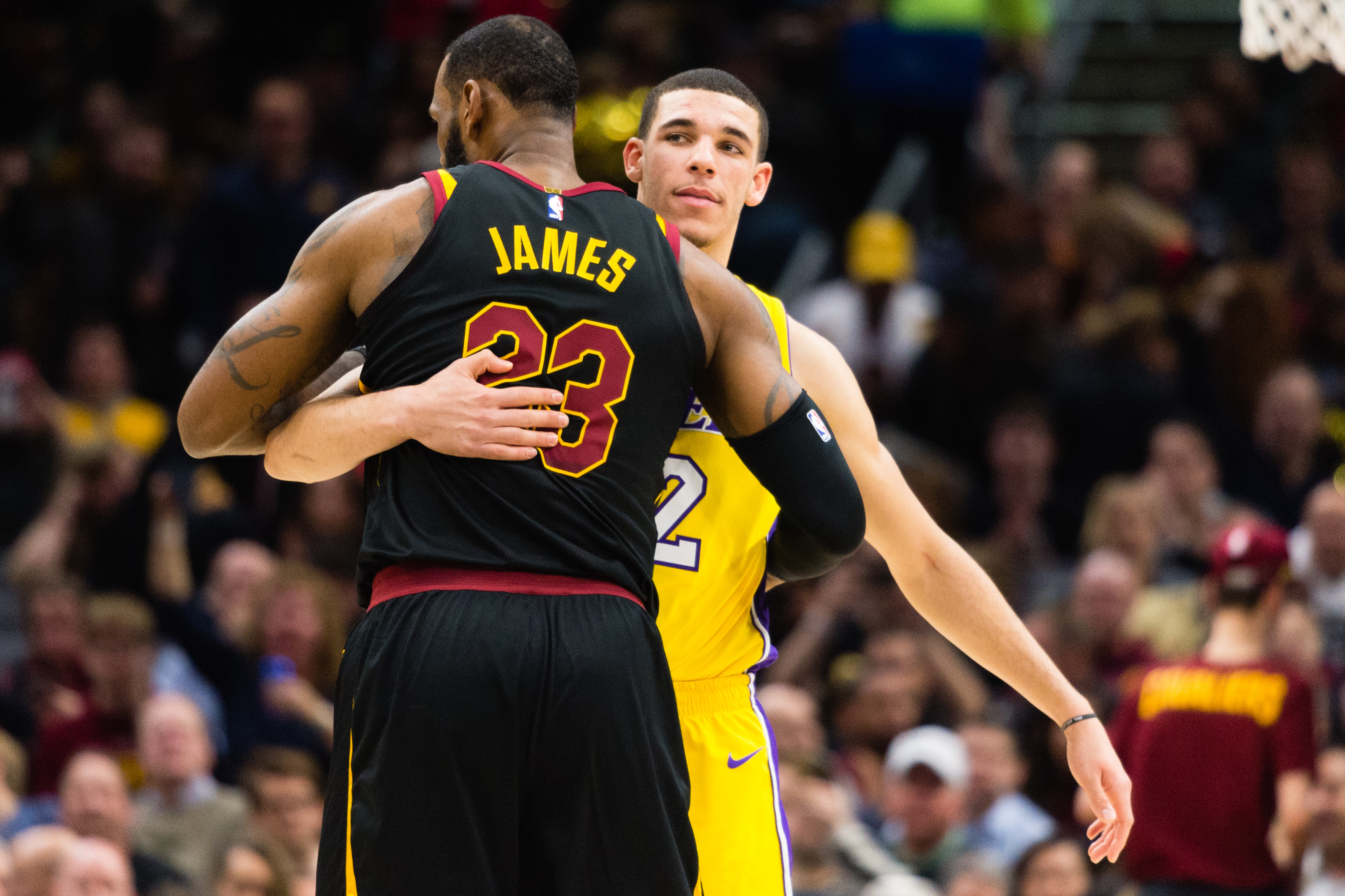 lakers cavs